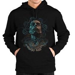Meshuggah - Mens Tentacle Head Logo Pullover Hoodie
