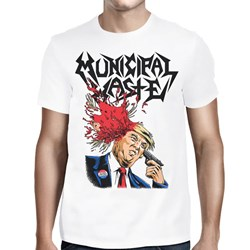 Municipal Waste - Mens Trump Walls of Death T-Shirt