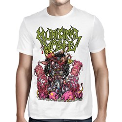 Municipal Waste - Mens Green Logo Rats T-Shirt