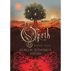 """Opeth - unisex-adult Heritage/Poster 32X24"""""""