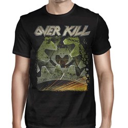 Overkill - Mens Mean Green Killing Machine T-Shirt