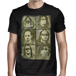 Overkill - Mens Faces T-Shirt