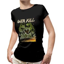 Overkill - Womens Grinding Wheel Ladies T-Shirt