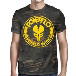 Powerflo - Mens Worldwide-mfp  Camo T-Shirt