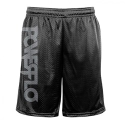 Powerflo - Mens Powerflo Silver Logo  Mesh Sho