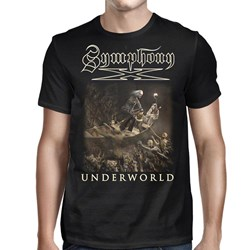 Symphony X - Mens Underworld Ship 2016 Tour T-Shirt