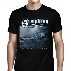 Symphony X - Mens Paradise Lost Cover T-Shirt