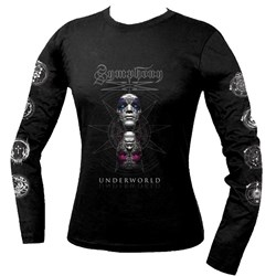 Symphony X - Womens Underworld Varient Ladies Long Sleeve