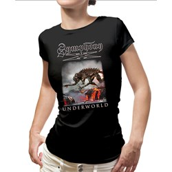 Symphony X - Womens Monster Back Dates Ladies T-Shirt