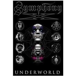Symphony X - unisex-adult Underworld Album Cover Textile Flag
