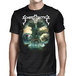 Sonata Arctica - Mens The Ninth Hour Tour T-Shirt