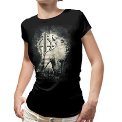 Sonata Arctica - Womens White Wolf Tour Dates Ladies T-Shirt