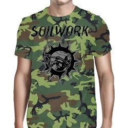 Soilwork - Mens Swedish Metal Attack T-Shirt
