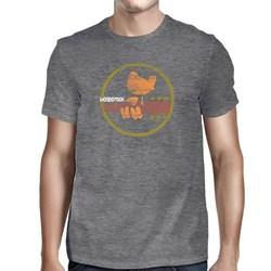 Woodstock - Mens Woodstock-peace Love Music T-Shirt