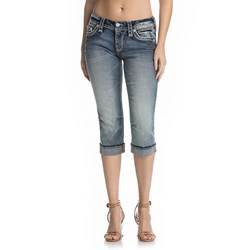 Rock Revival - Womens Dariel P203 Capri Jeans