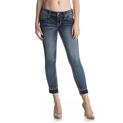 Rock Revival - Womens Julee RK232 Crop Skinny Jeans