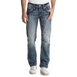 Rock Revival - Mens Dyre J201 Straight Jeans
