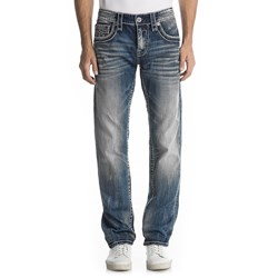 Rock Revival - Mens Norman J6 Straight Jeans