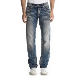 Rock Revival - Mens Norman J6 Straight Jeans