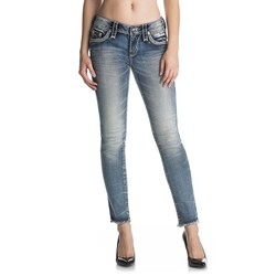 Rock Revival - Womens Aliana Ak204 Ankle Skinny Jeans