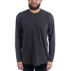 Stussy Mens Camo Stock Pig. Dyed Pocket Long Sleeve T-Shirt