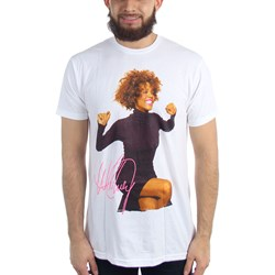 Whitney Houston - Mens Smile T-Shirt