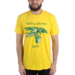 Rolling Stones - Mens Eagle With Amp 1975 T-Shirt