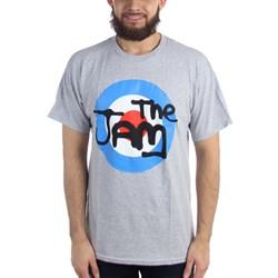 The Jam - Mens Grey Target T-Shirt