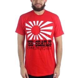 The Beatles - Mens Rising Sun T-Shirt