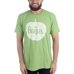 The Beatles - Mens Apple Green T-Shirt