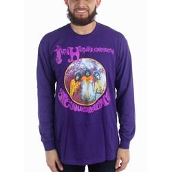Jimi Hendrix - Unisex Hendrix Unisex Aye Long Sleeve Long Sleeve T-Shirt