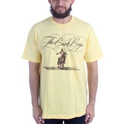 The Beach Boys - Mens Script Logo Horse T-Shirt