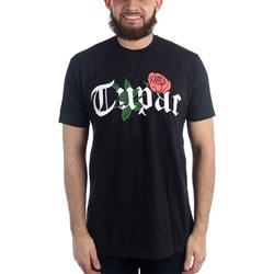 Tupac - Mens Rosey Logo T-Shirt