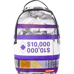 Sprayground - Unisex Adult Purple Money Stacks Backpack