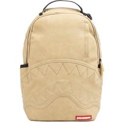 Sprayground - Unisex Adult Beige Leather C&S Backpack