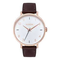 Nixon - Women's Arrow Leather Analog Watch