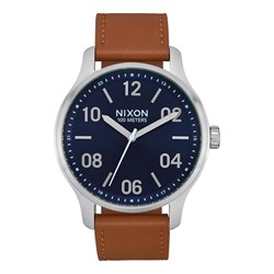 Nixon - Men's Patrol Leather Analog Watch