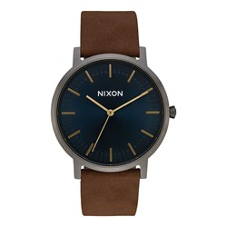 Nixon - Mens Porter Leather Watch