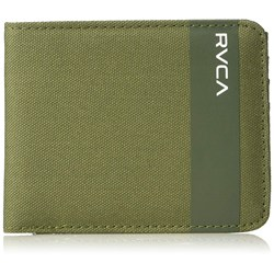 RVCA Mens Leeward Bifold Wallet