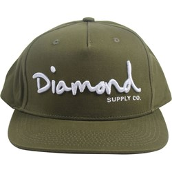 Diamond Supply Co. - Mens Og Script Unstructured Snapback Hat