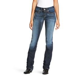 Ariat - Womens Real Mr Straight Stitch Ella Denim Jeans