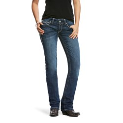 Ariat - Womens Real Mr Strght Updatd Entwined Denim Jeans