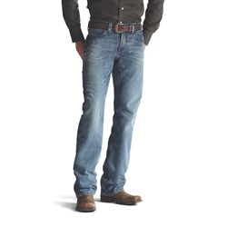 Ariat - Mens M4 Low Rise Scoundrel Denim Jeans