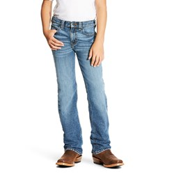 Ariat - Boys B4 Relaxed Fit Denim Jeans