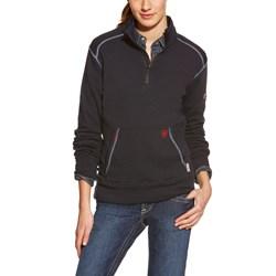 Ariat - Womens Fr Polartec 1/4 Zip Fleece Work Mid Layer