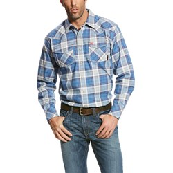 Ariat - Mens Fr Permian Retro Work Woven Shirt