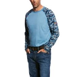 Ariat - Mens Fr Baseball Work Knit Shirt