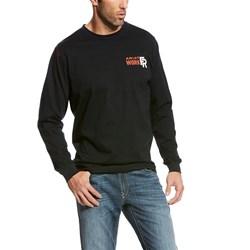 Ariat - Mens Fr Firebird Graphic Crew Work Knit Shirt