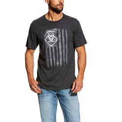 Ariat - Mens Vertical Flag Western Knit Shirt