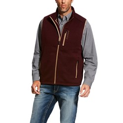 Ariat - Mens Caldwell Full Zip Vest Western Mid Layer